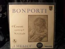Fr.A. Bonporti - 4 Concerti a quattro op.11 / I Musici