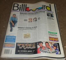 BILLBOARD MAGAZINE - 6/5/99 - CHARTS, ADS - HUGE HEAVY METAL SECTION - MANY ADS