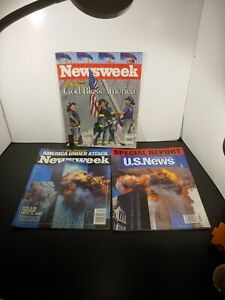 Lot Of 3 9/11 News Booklets