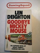 Goodbye Mickey Mouse, Len Deighton PB Book, Supplied by Gaming Squad