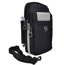 Vertical Nylon sport Belt Clip Phone Pouch Shoulder Bag For Apple iPhone 7 Plus