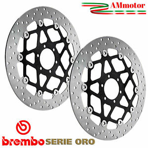 Discs Brembo Yamaha Yzf 600 R6 2018 Brake Floating Pair Front Motorcycle 320 mm