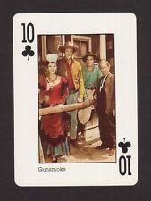 Gunsmoke TV Playing Card