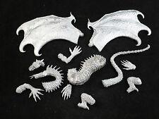 Tom meier thunderbolt mountain metal miniatures: gigantesque dragon vert kit