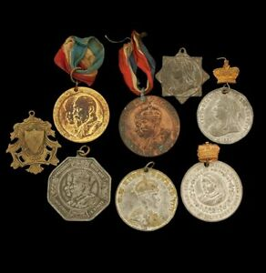 Assorted Vintage Royal Coronation and Jubilee Medals