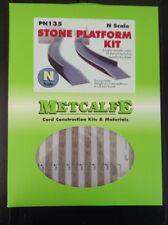 Metcalfe Kit PN135. Stone Platform Kit.  N Scale.