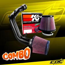 01-06 VW Golf GTI 1.8T 1.8L 4cyl Black Cold Air Intake + K&N Air Filter