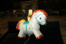 Vintage 1968 Fisher Price Toys Pony Music Box 190 Schubert's Cradle Song