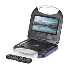 Magnavox Mtft750-Pl Portable 7 inch Dvd/Cd Player with Remote in Purple