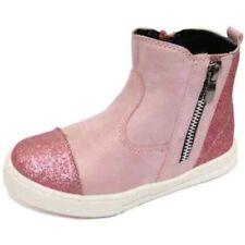 Bottes roses zip pour fille de 2 à 16 ans