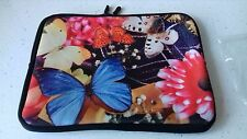 NEW BEAUTIFUL BUTTERFLY & FLOWER  iPAD CASE COVER SLEEVE FOR  iPad 1 2 3