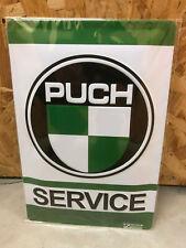 Blechschild - Puch Service - 20x30cm geprägt