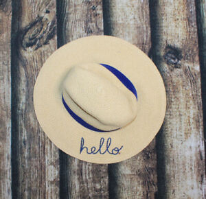 Girls 0-9 Month Carters Hello Tan Straw Summer Hat