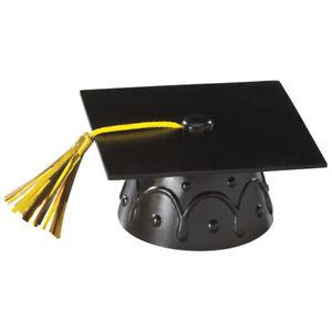 New Graduation Cake Topper Black Cap Cake Accents