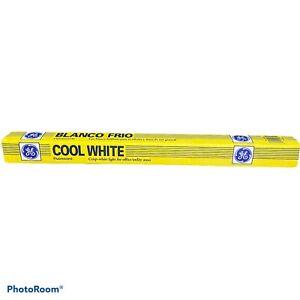 "GE Fluorescent Light Bulb 18"" 15 Watt Cool White  F15T12"