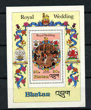 Bhutan 1981 SG#MS444 Diana Royal Wedding MNH M/S #A66636
