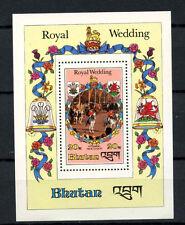 Bhutan 1981 SG#MS444 Diana Royal Wedding MNH M/S #A66636