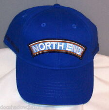 NORTH END Classic Embroidered Royal Cobalt Blue Cotton Ball Cap
