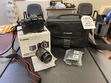 Canon EOS M50 24.1MP Mirrorless Digital Camera, EF-M 15-45mm STM Lens - Black