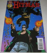 HITMAN #1 (DC Comics 1996) BATMAN appearance (VF-) Garth Ennis & John McCrea