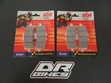 Ducati 1098 2007 2008 SBS Race Sintered Front Brake Pads 841RS