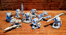 8 Snotty Goblins Wargame Warhammer LMF5 UNPAINTED 28mm Scale Langley Models Kit