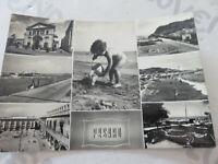 Tarjeta Postal Época Pesaro Imágenes Diferentes Shipped 1958