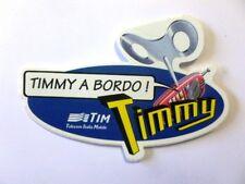 VECCHIO ADESIVO ORIGINALE / Old sticker TIM TELECOM TIMMY (cm 12 x 8) a