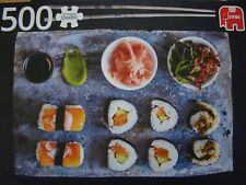 SUSHI: PUZZLE 500 PIECES  JUMBO - 49 X 35 - PREMIUM QUALITY- COMPLET COMME NEUF