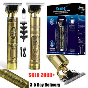 100% Original KEMEI Portable Electric Hair Clippers Trimmer Shavers Clipper