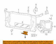 Jeep CHRYSLER OEM Cherokee Radiator Core Support-Lower Tie Bar Bracket 55174978