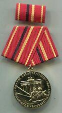 East German NVA KAMPFGRUPPEN GOLD MEDAL W/Ribbon