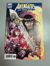 Avengers No Road Home #6 1:25 Jim Cheung Variant 1st Marvel Conan 2019 VF/NM