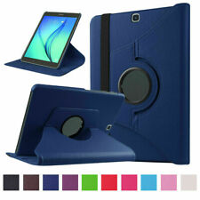 360 Rotating Case Stand Leather Cover For Samsung Galaxy Tab A 8 inch SM-T350