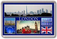 FRIDGE MAGNET - LONDON - Large - TOURIST 6 Blue