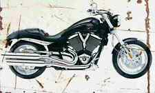Victory Hammer 2005 Aged Vintage SIGN A3 LARGE Retro
