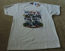 Screen Stars Best MLB Chicago Cubs Baseball T Shirt Size XL 1989 New with Tags