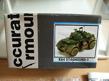 Model Resin Kit Accurate Armour K64 Staghound-1 on 1:35 in Box
