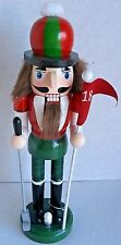 CHRISTMAS  NUTCRACKER 10 inches   GOLFER