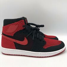Nike Air Jordan Retro I BRED Banned Chicago Size 11 Flyknit 919704 001