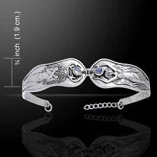 Mickie Mueller Horned God Spring Maiden Goddess .925 Sterling Silver Bracelet