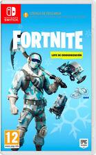 Juego Nintendo switch Fortnite lote Criogenización