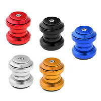 34mm Threadless Bicycle Bikes Headset Sealed Bearing Fixed Gear With Tops Cap .~