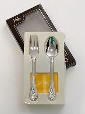 Japan Airlines JAL Wako Fork & Spoon Set Passenger Souvenir Gift NIB