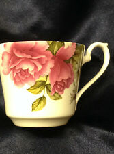 ROYAL STAFFORD VICTORIA SECRET CUP ONLY PINK MULTICOLORED FLOWERS TEACUP ENGLAND
