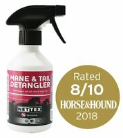 NETTEX Mane & Tail Detangler Spray Softening Conditioning Dirt Repelling Formula