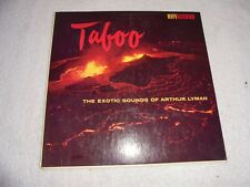 Taboo The Exotic Sounds Of Arthur Lyman (Vinyl 1958 HIFI) Used ORG LP 33 Album
