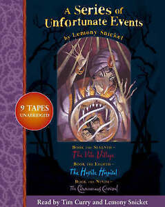 A SERIES OF UNFORTUNATE EVENTS BOOKS 7-9 (AUDIO CASSETTE) SEALED