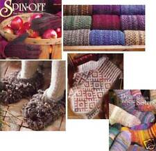 Spin-off magazine winter 2002: crochet Moppet slippers