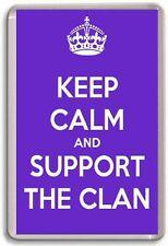 Keep Calm and SUPPORTO the Clan, BRAEHEAD CLAN ICE HOCKY Magnete del frigorifero